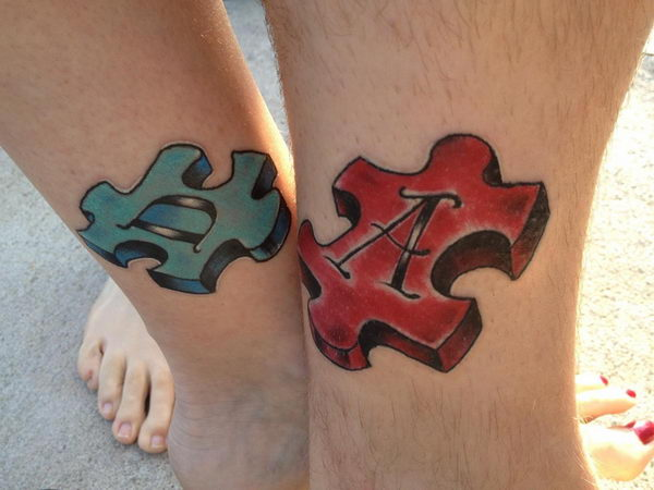 40 Cool Puzzle Piece Tattoo Design Ideas Hative Ideas And Designs