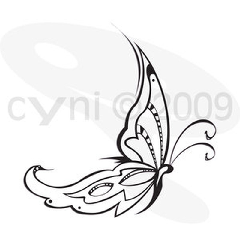 Tribal Butterfly Tattoo Design 4 Tattoos Book 65 000 Ideas And Designs