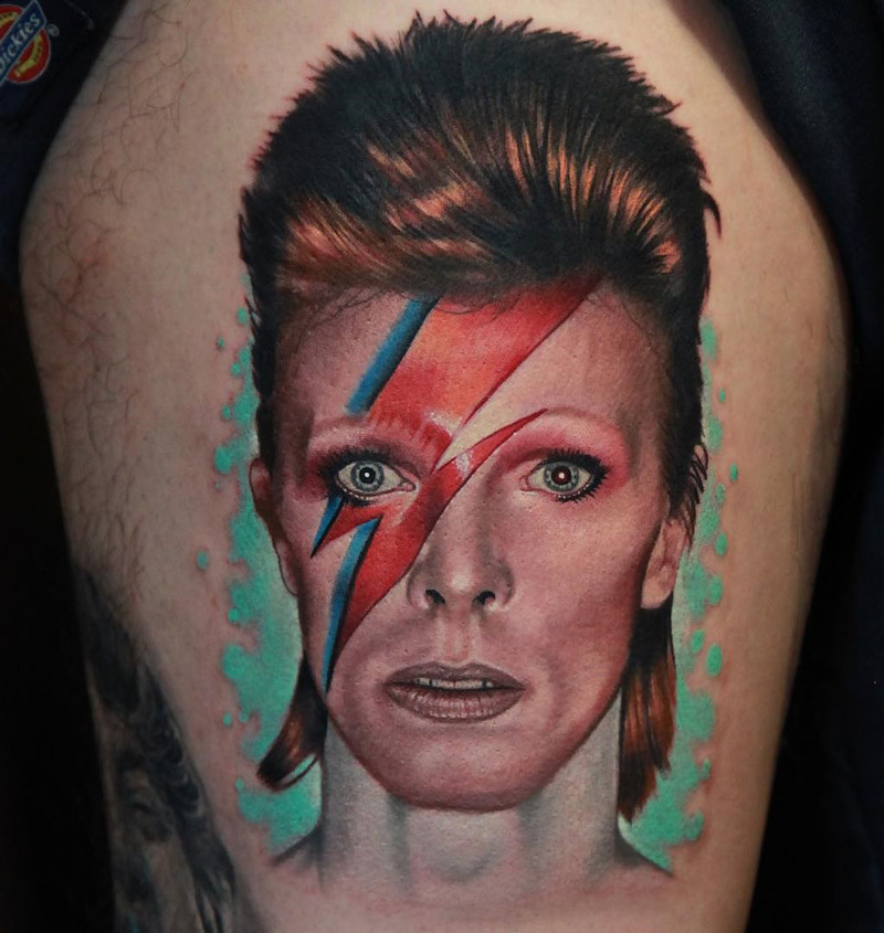David Bowie S Aladdin Sane Character Best Tattoo Design Ideas And Designs