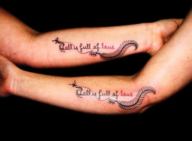 Love Made Me Do It Bad Couple Tattoos 37 Pics Picture Ideas And Designs