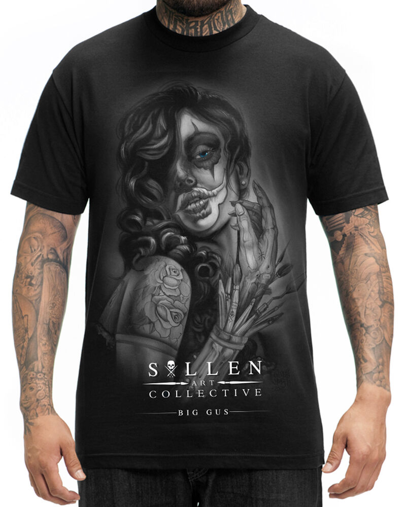 Sullen Clothing Soulful Art Mens T Shirt Black Tattoo Tee Ideas And Designs