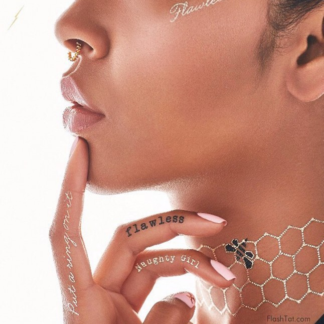 Beyonce Launches Temporary Tattoo Line With Flash Tattoos Ideas And Designs