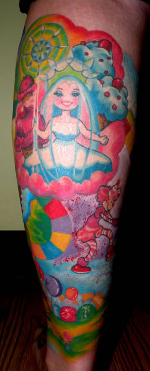 Candyland Tattoo Tumblr Ideas And Designs