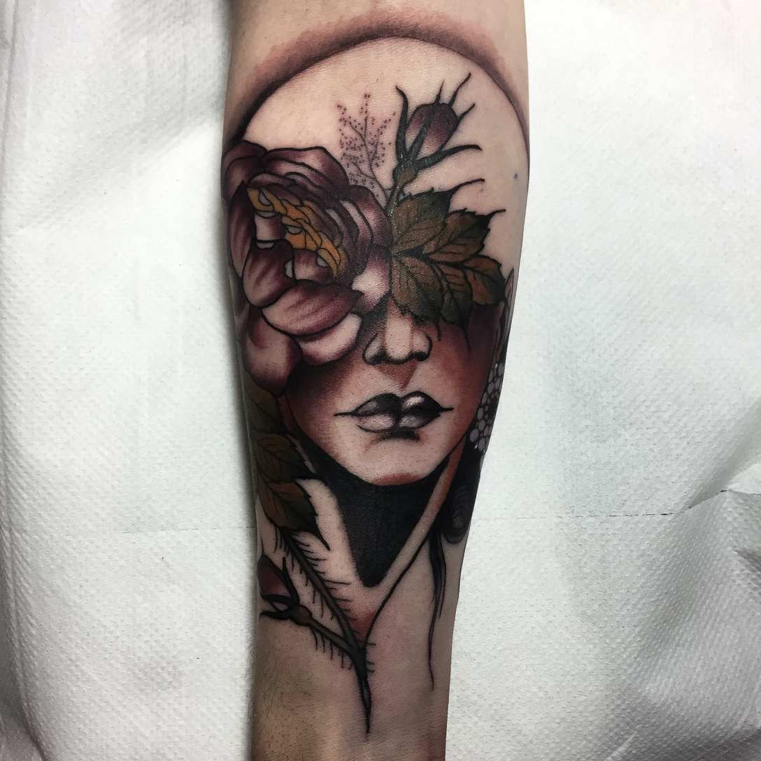 Neo Traditional Tattoos By Frances Anne Faith Modern Body Ideas And Designs