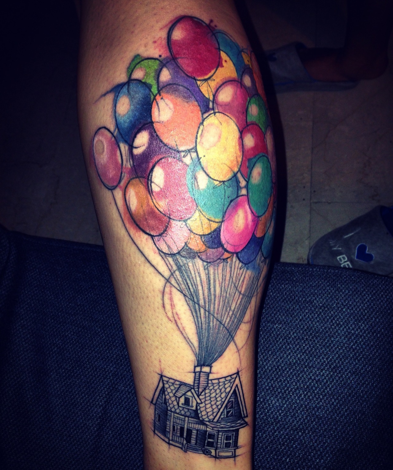 Fyeahtattoos Com — Adventure Is Out There Done Ideas And Designs