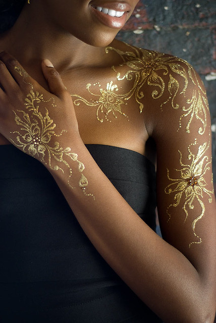 Gold Henna Detail Flickr Photo Sharing Ideas And Designs