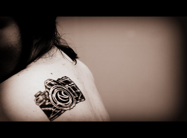 My New Tattoo Modeled After My Canon Ae 1 A Tribute To Ideas And Designs