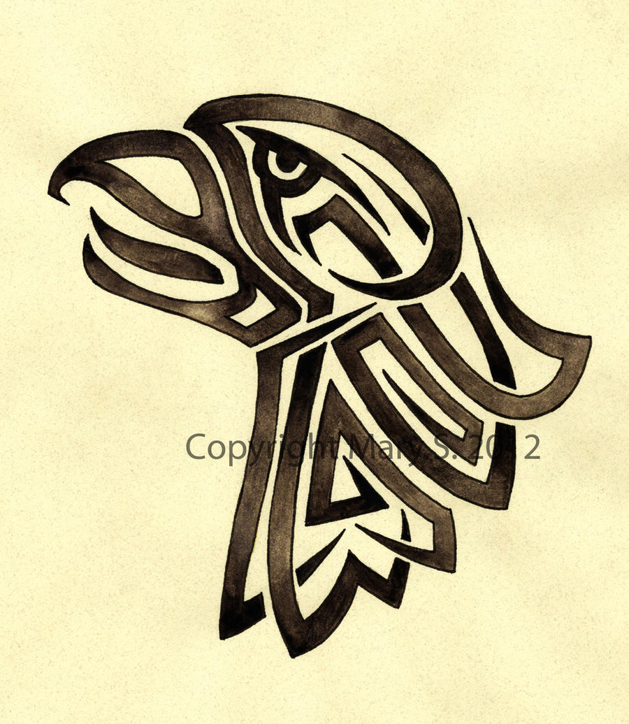 Screaming Eagle Tribal Design By Blackmagdalena On Deviantart Ideas And Designs