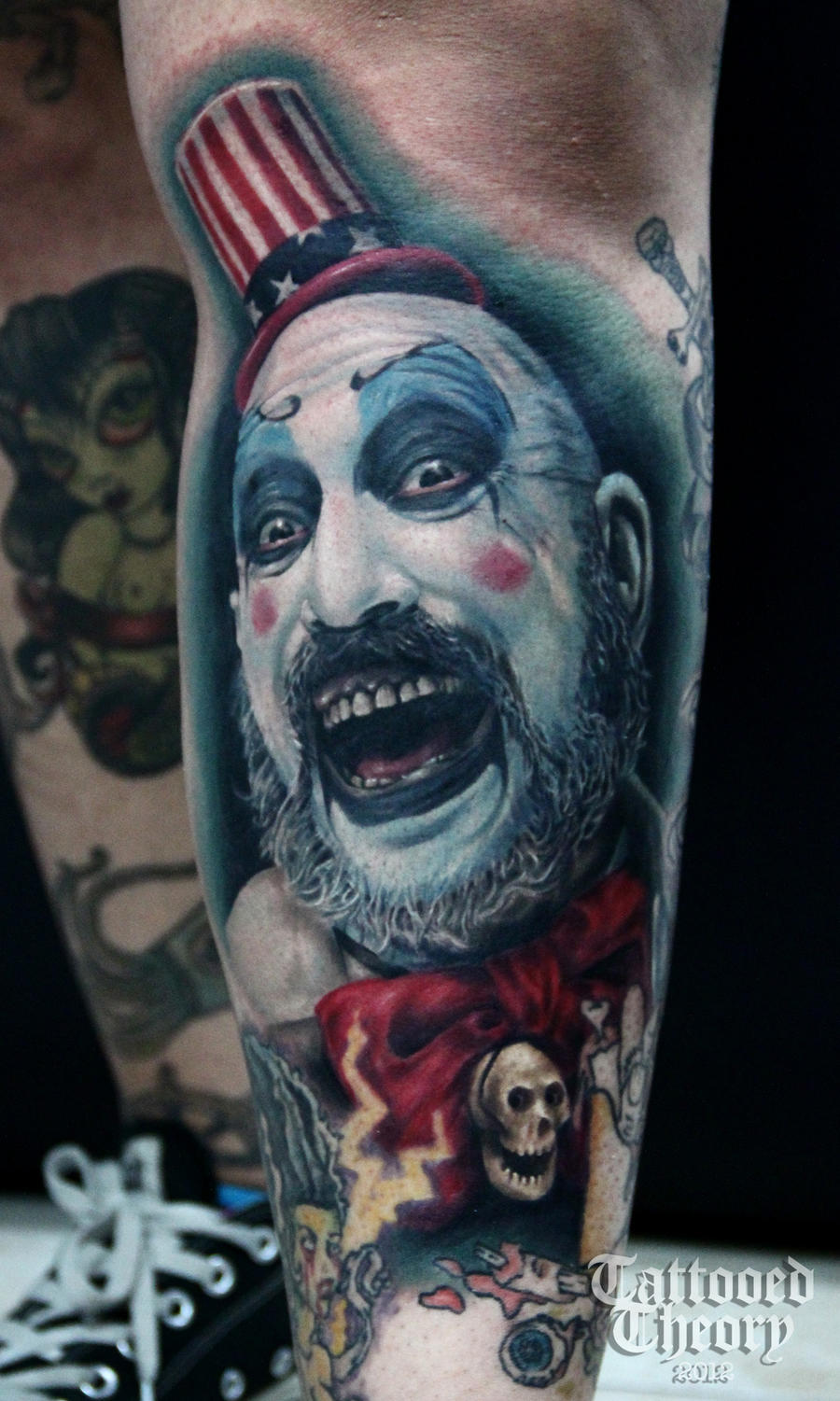 Captain Spaulding Tattoo By Bluehyper On Deviantart Ideas And Designs
