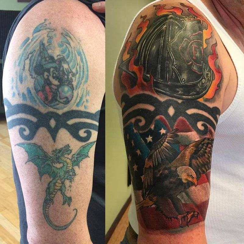 Cover Up Magic By Chad Pelland Tattoos Ideas And Designs