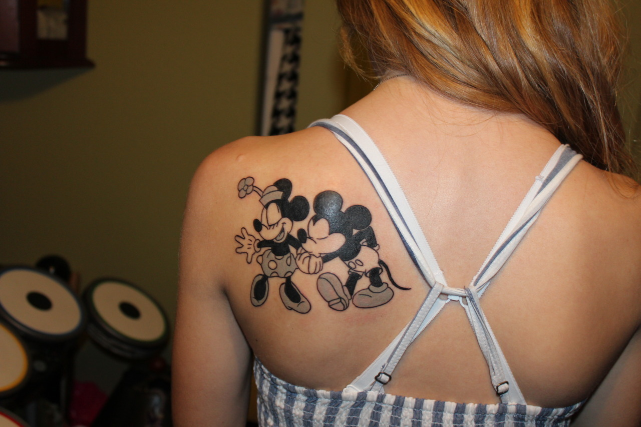 14 Marvelous Mickey Mouse Tattoos Ideas And Designs