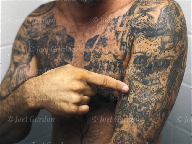 Inmate With *Ry*N Nation Gang Tattoos Joel Gordon Ideas And Designs