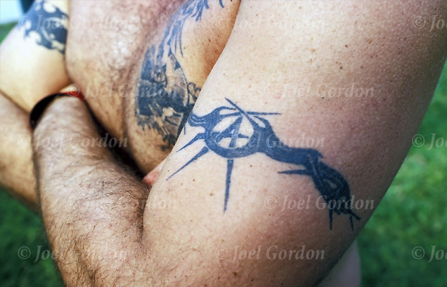 Inmate With *Ry*N Nation Gang Tattoo Joel Gordon Photography Ideas And Designs