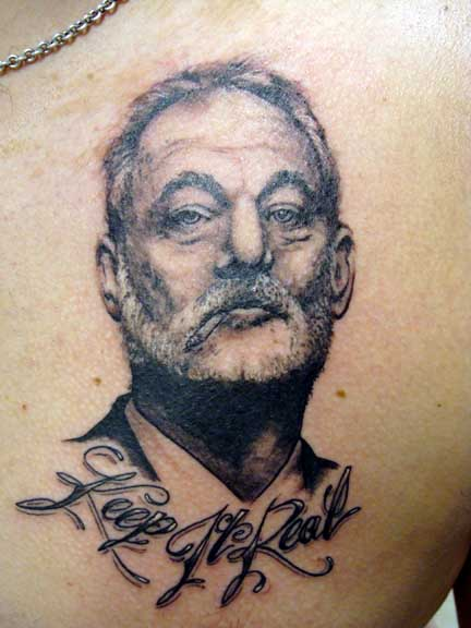 Bill Effing Murray Tattoos Gallery Ebaum S World Ideas And Designs