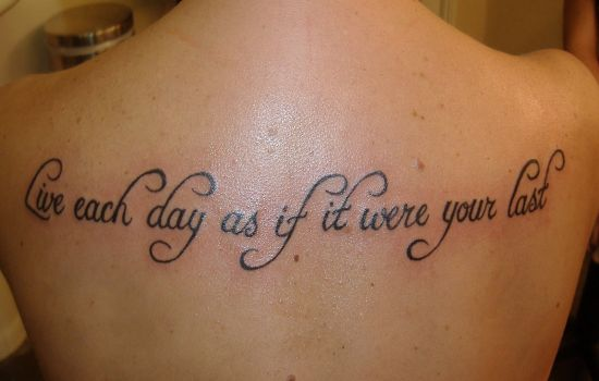 33 Inspirational Quote Tattoos To Consider Ideas And Designs