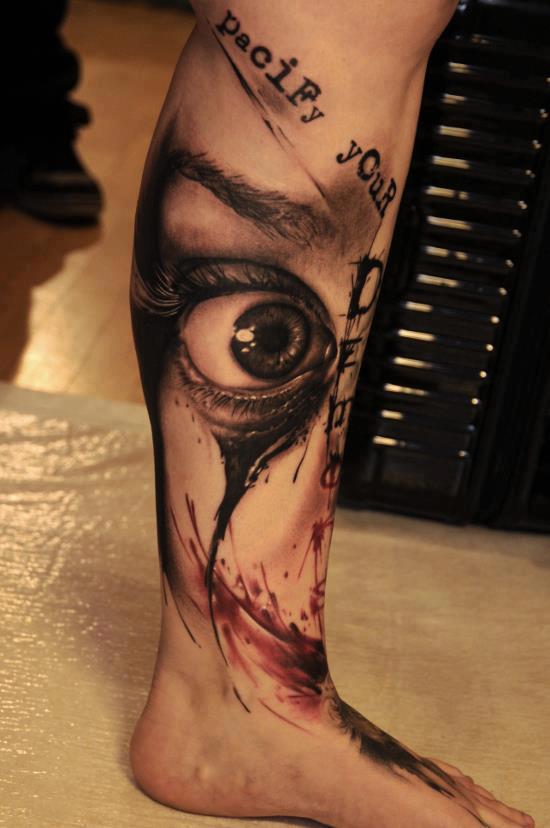 Leg Tattoo Images Designs Ideas And Designs