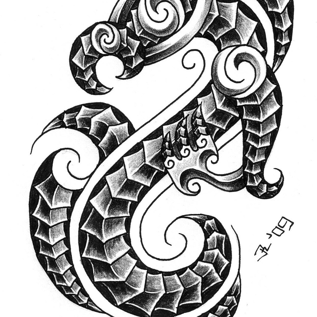 Latest Grey Ink Capricorn Tattoo Design Ideas And Designs