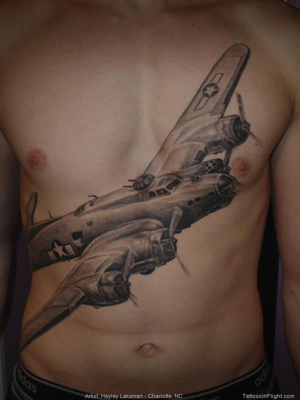 Airplane Tattoo Images Designs Ideas And Designs