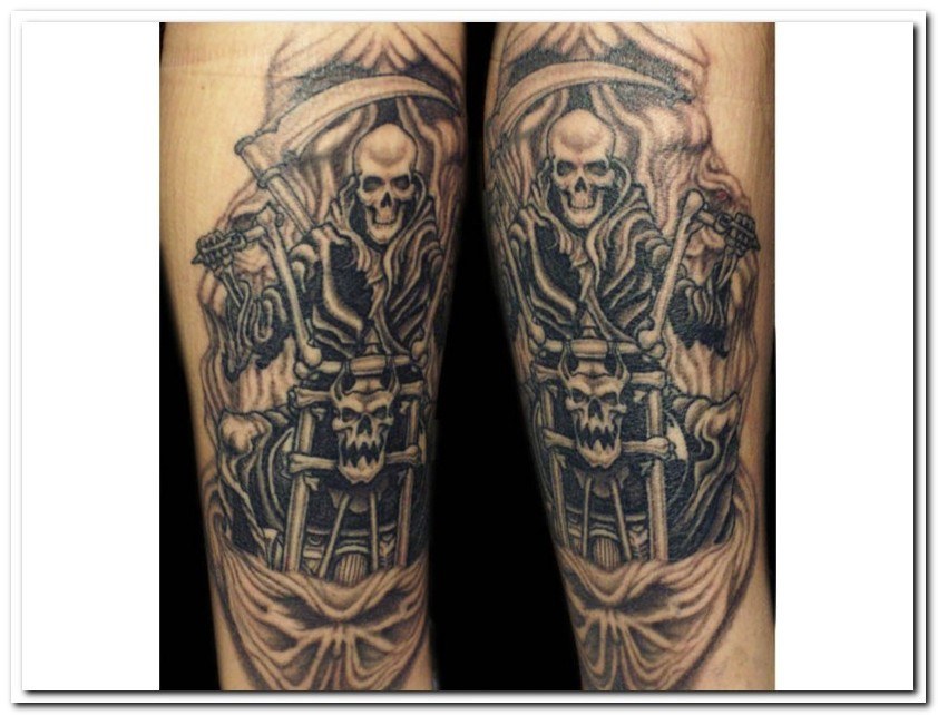 Harley Tattoo Images Designs Ideas And Designs
