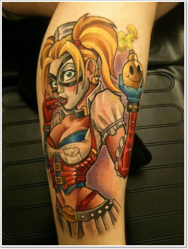 Pin Up Girl Tattoo Images Designs Ideas And Designs