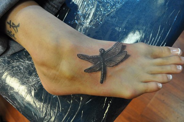 Dragonfly Tattoo Images Designs Ideas And Designs