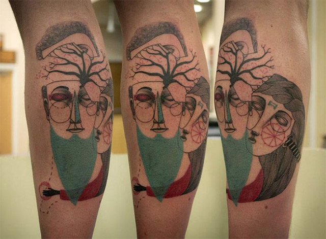 Stunning Tattoos By Art Collaborators 'Expanded Eye Ideas And Designs