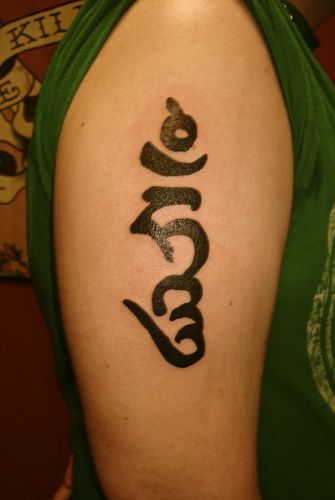 Tibetan Tattoos Tibetan Tattoo Pictures Mantras And Ideas And Designs