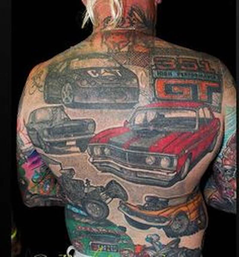 Car Tattoos 30 Totally Epic Car Tattoo Ideas Ideas And Designs