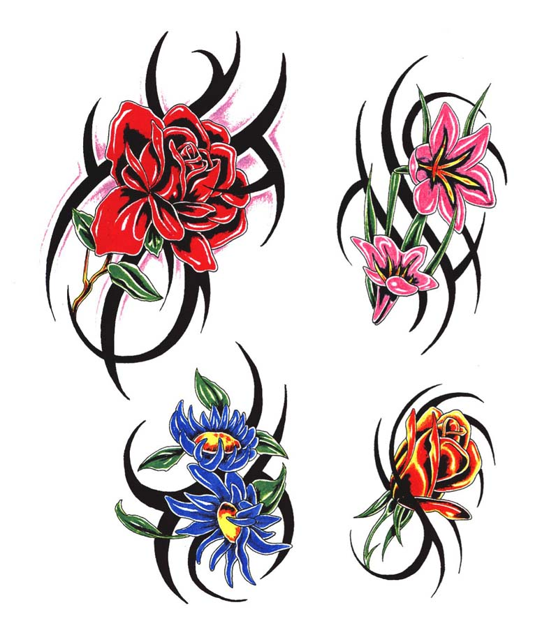 Tribal Flower Clipart Best Ideas And Designs
