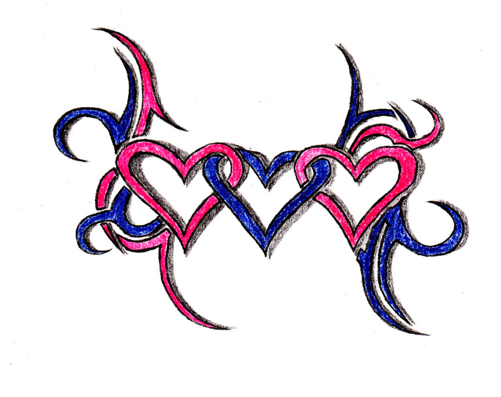 Three Hearts Clipart Best Ideas And Designs