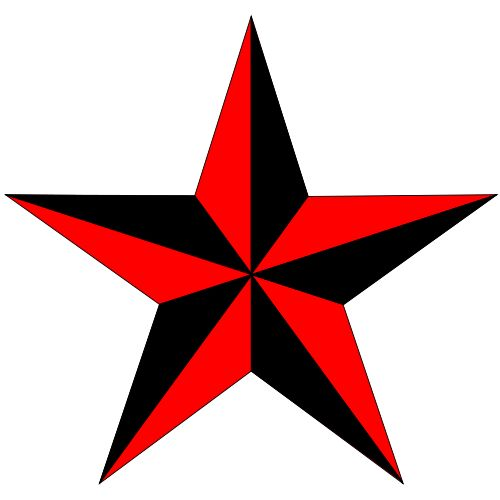Five Point Star Tattoo Designs Clipart Best Ideas And Designs