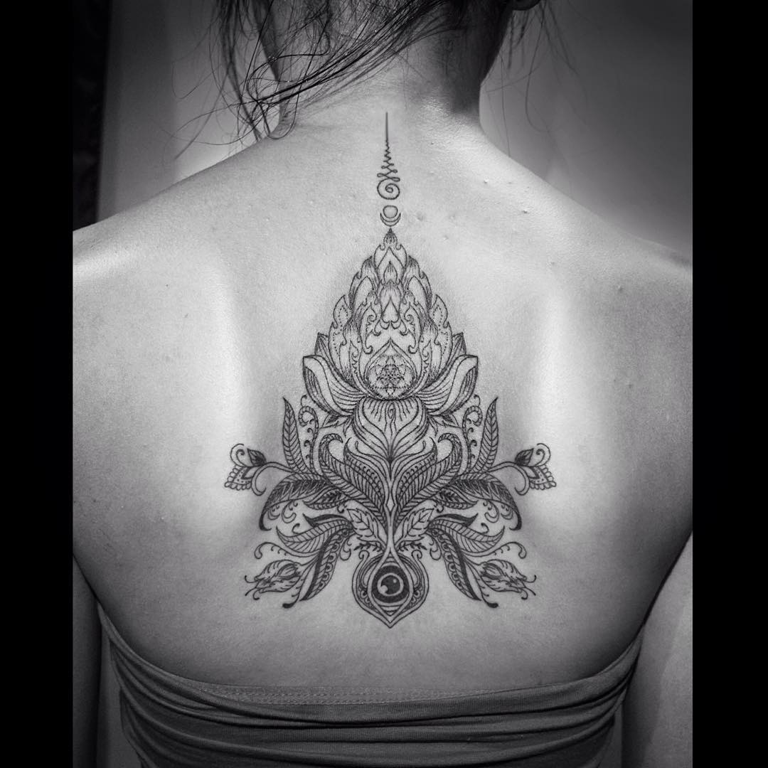 Lotus Back Tattoo Best Tattoo Ideas Gallery Ideas And Designs