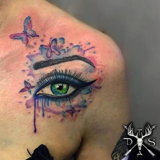 Watercolor Eye Tattoo Best Tattoo Ideas Gallery Ideas And Designs