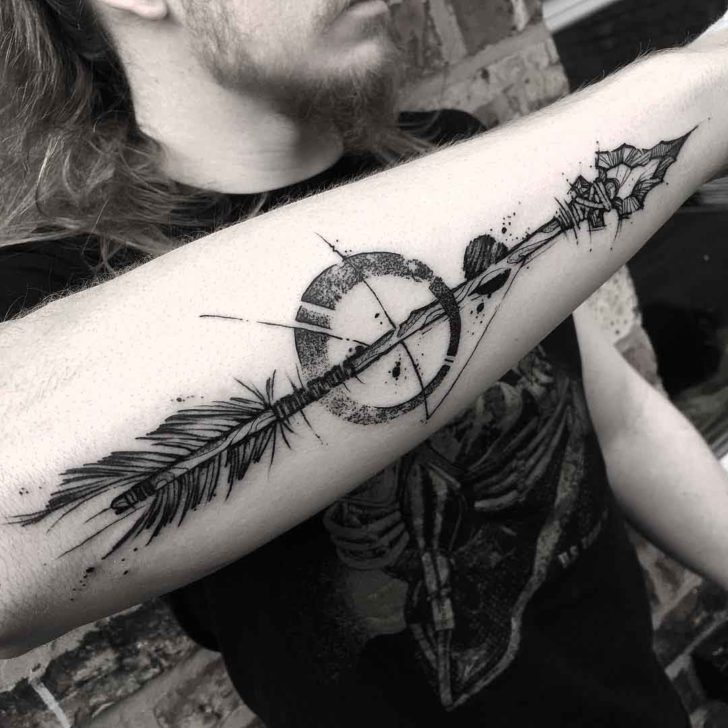 Stone Arrow Tattoo On Forearm Best Tattoo Ideas Gallery Ideas And Designs