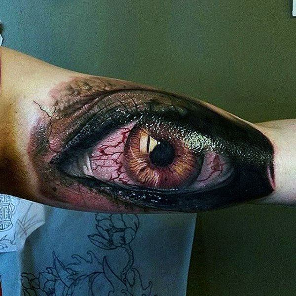 114 Intense Eye Tattoos That Will Bl*W Your Mind Ideas And Designs
