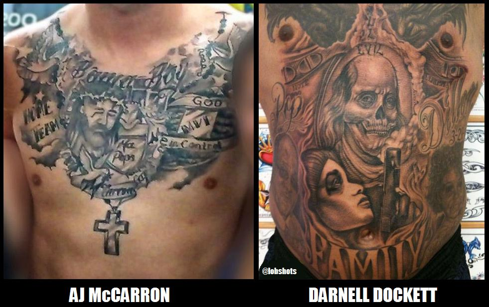 Aj Mccarron Fires Back At Darnell Dockett Blat Blat Ideas And Designs