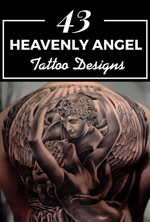 43 Heavenly Angel Tattoo Designs Tattooblend Ideas And Designs