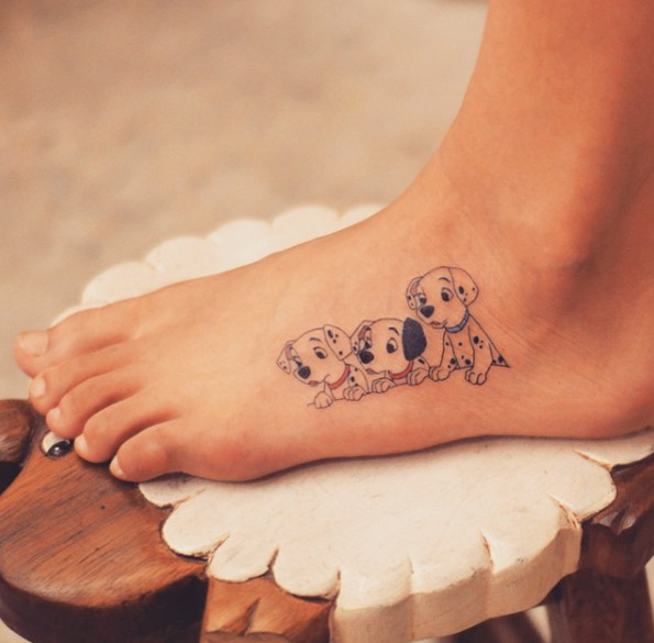 45 Beautiful Disney Tattoos Inspired By Your Favorite Ideas And Designs