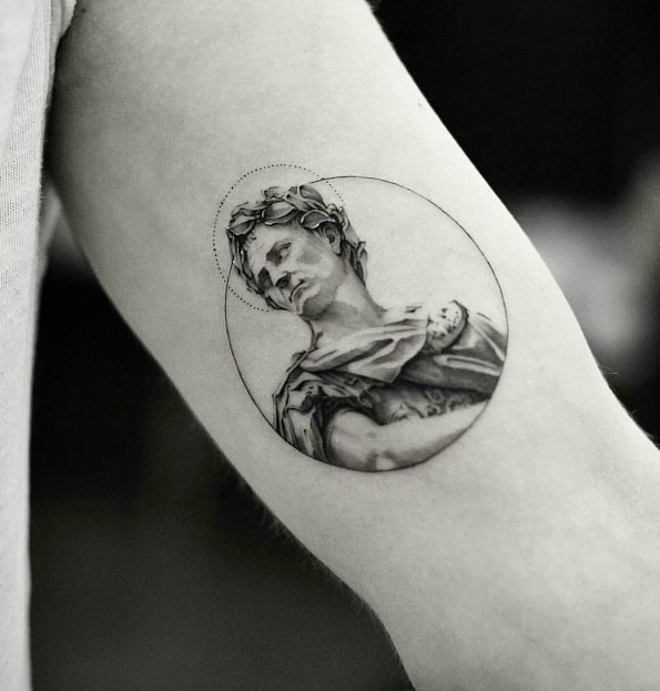 30 Best Tattoos Inspired By Classical Art Tattooblend Ideas And Designs