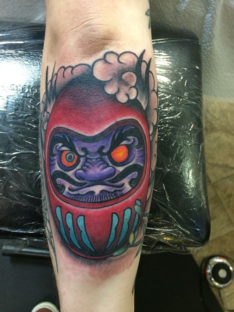 Robbie Daruma Doll Japanese Tattoo Daruma Doll Good Luck Ideas And Designs