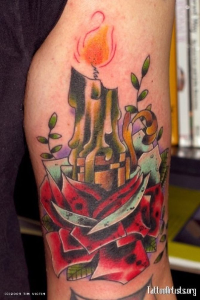 Candle Tattoos Tattoofanblog Ideas And Designs