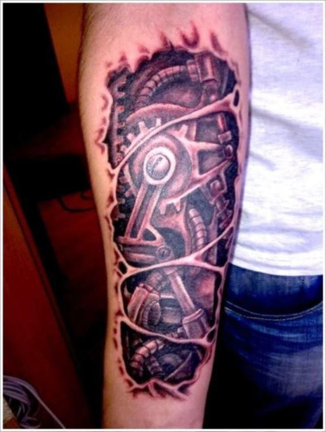 20 Biomechanical Tattoos Tattoofanblog Ideas And Designs