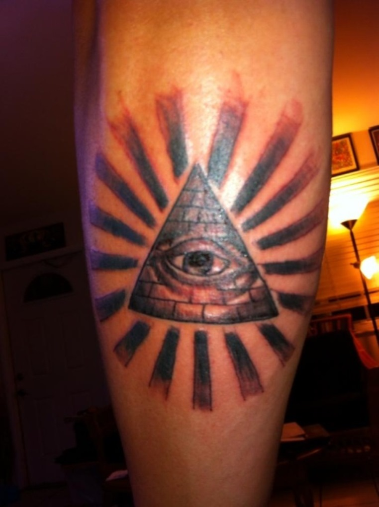 20 Pyramid Tattoos Tattoofanblog Ideas And Designs