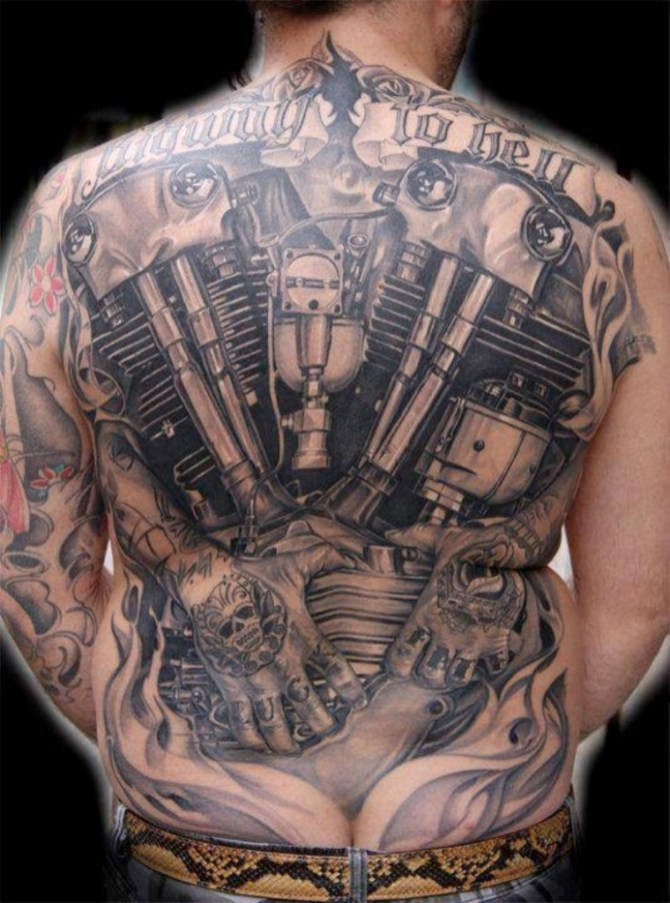 Biker Tattoos Tattoofanblog Ideas And Designs