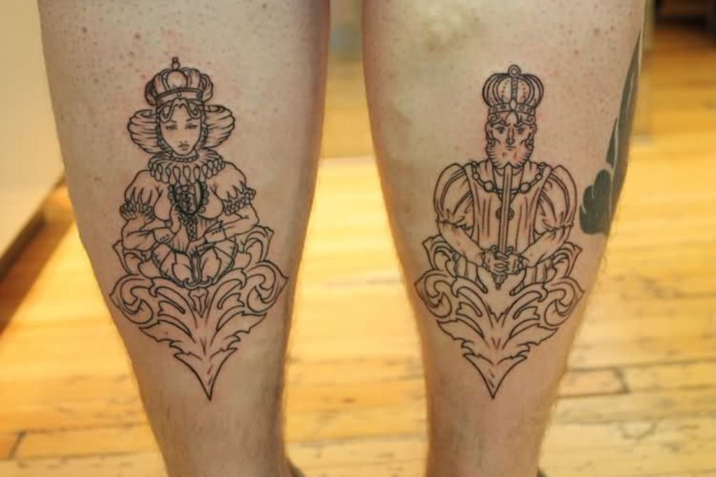 30 King And Queen Tattoos Tattoofanblog Ideas And Designs