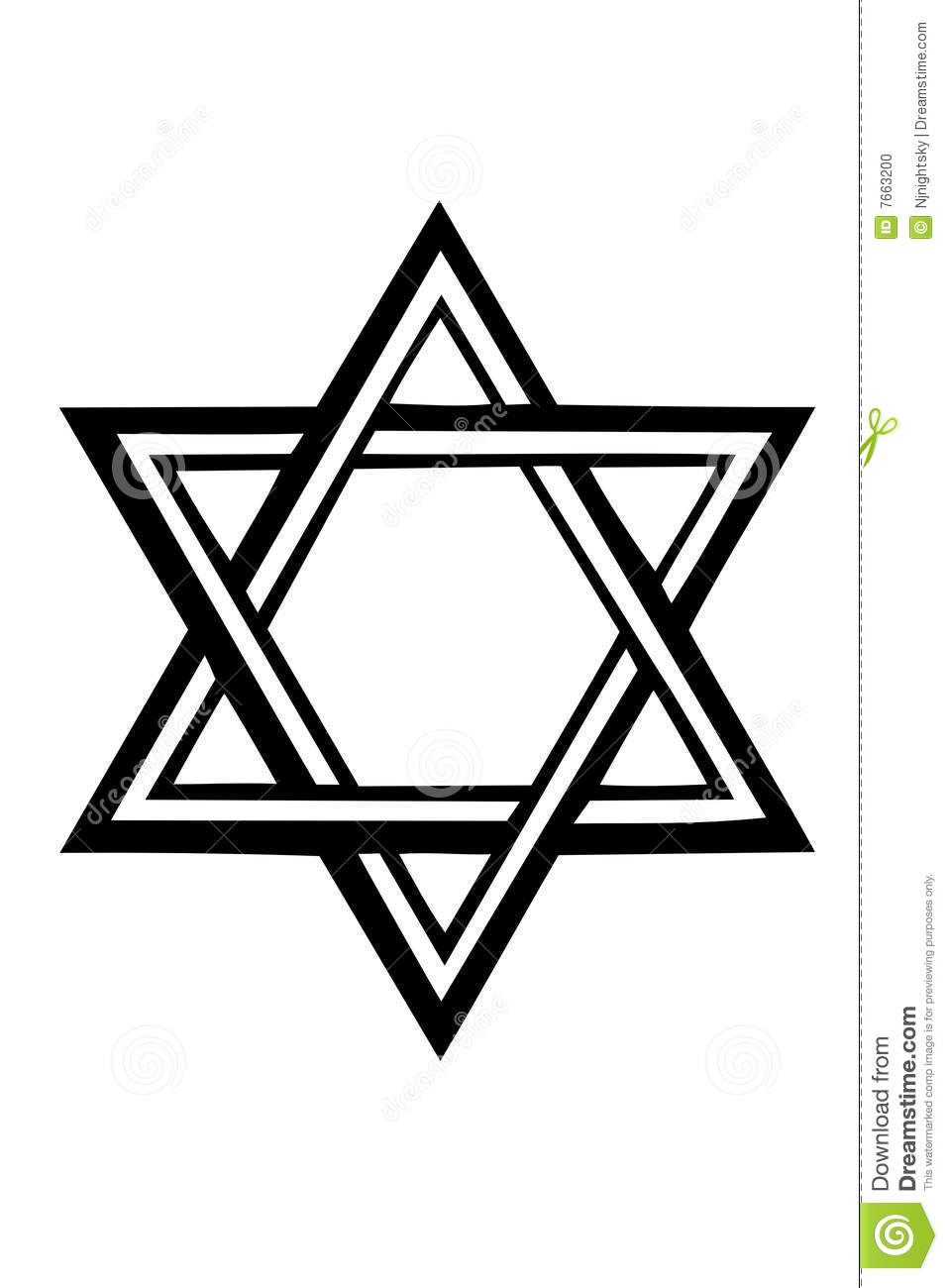 Star Of David Stock Vector Illustration Of Isolate Ideas And Designs