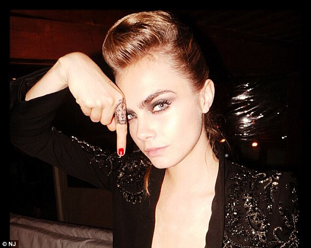 Cara Delevingne Lion Tattoo What We Wear Ideas And Designs