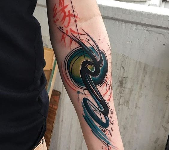 Abstract Tattoos 50 Beautiful Abstract Design Ideas For Ideas And Designs