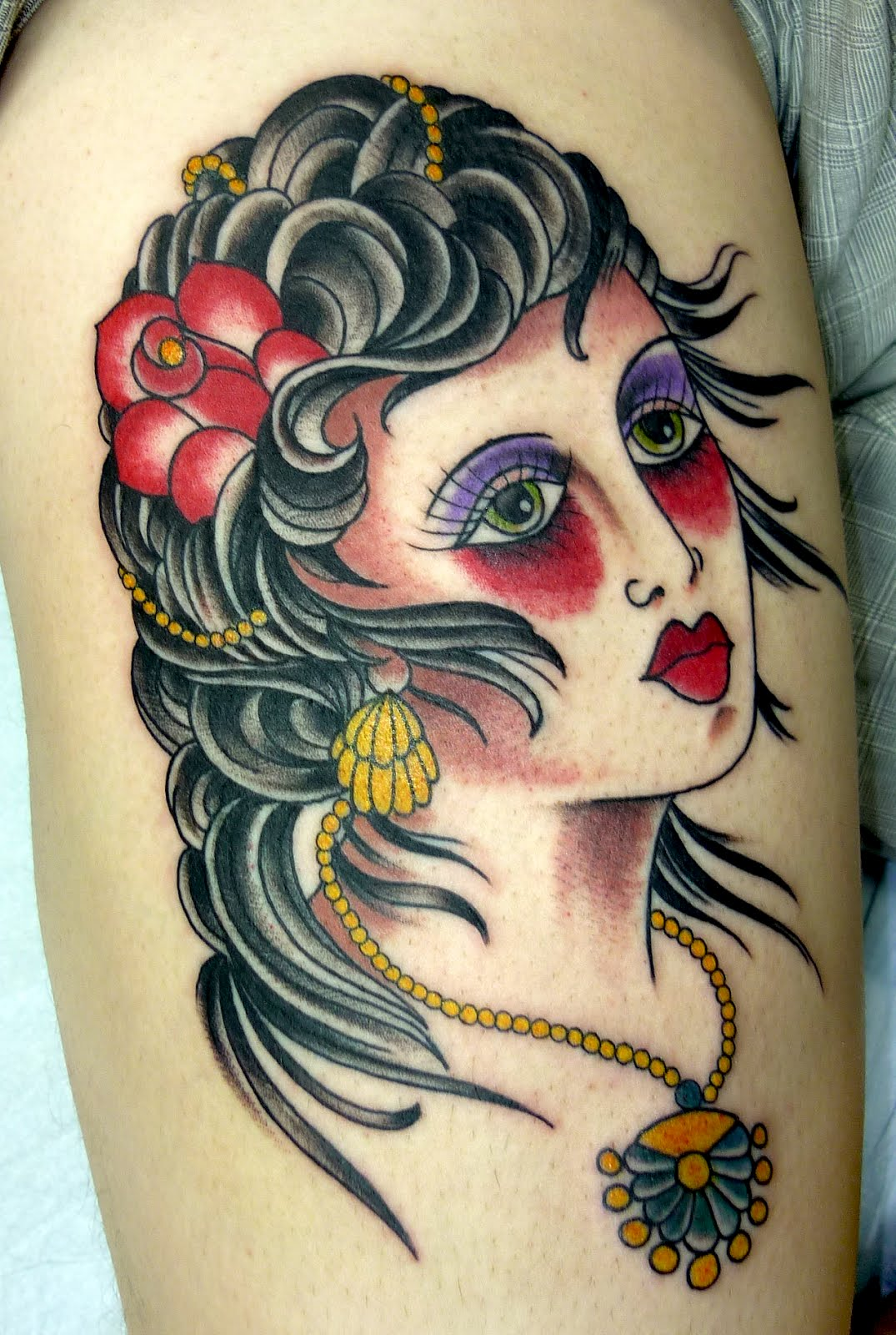 Gypsy Tattoos Designs Ideas And Meaning Tattoos For You Ideas And Designs