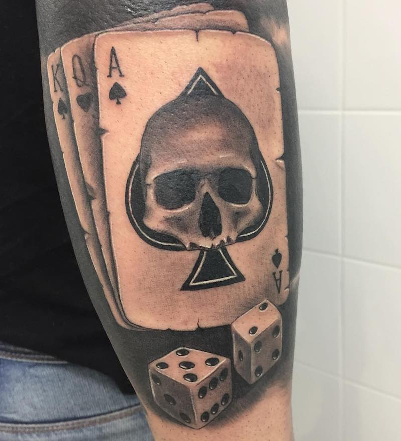 Best Ace Tattoos And 5 Free Ace Tattoo Designs Tattoo Ideas And Designs